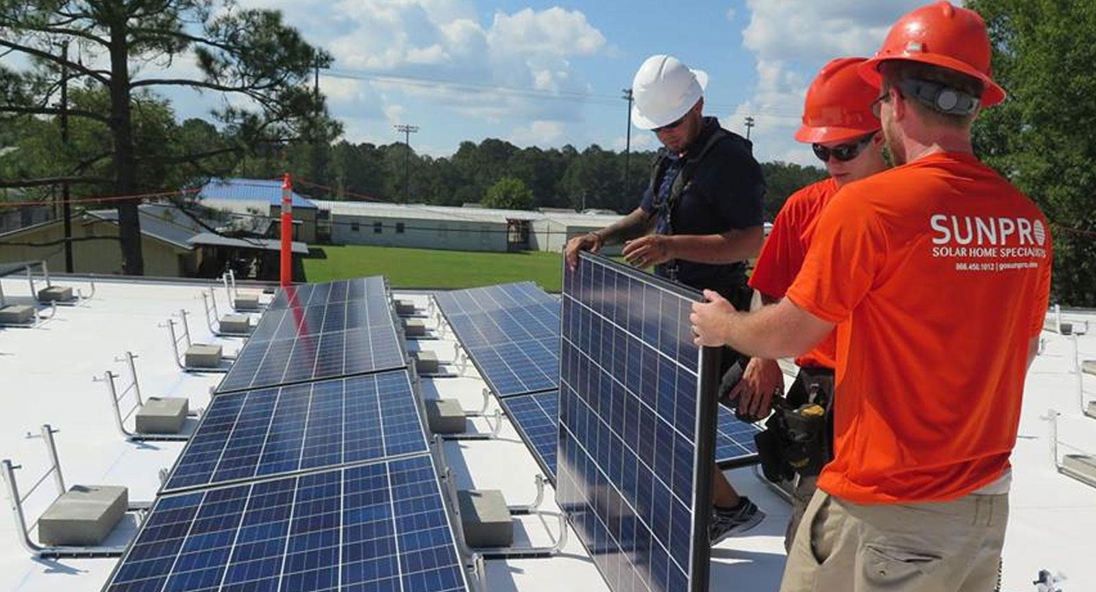 Sunpro Solar Energy Specialists Solar Of Louisiana